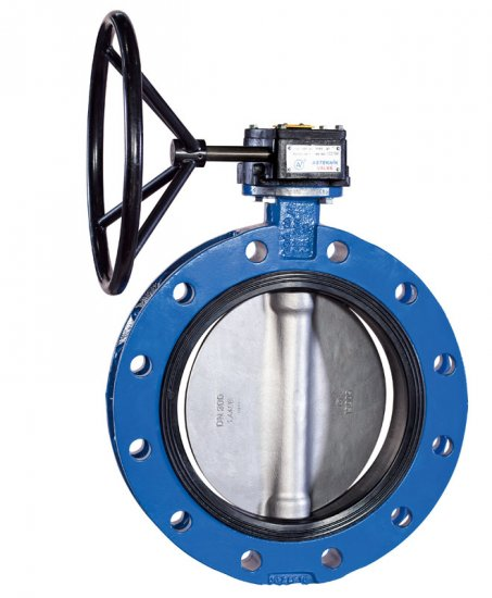Double flanged butterfly valve type 1170