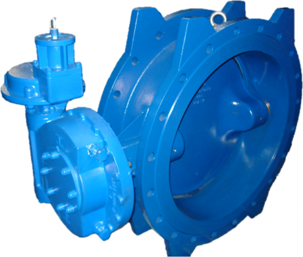 Type 2160 double eccentric butterfly valve