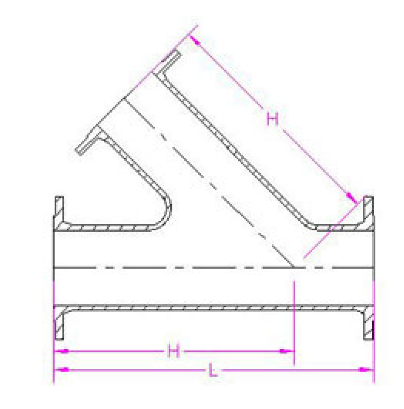 Angle Branch T Piece Ffc on pipe reducer fittings