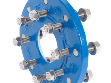 Studded reducer flange, XR-piece