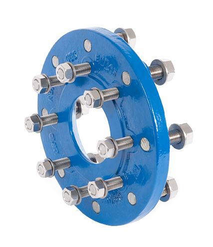 XR studded reducer flanges