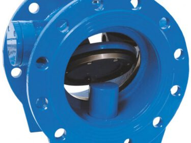 Slanted check valve, type 4020