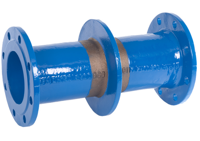 Flanged Pipe Fittings : Flanged pipe with puddle ffm piece technimex