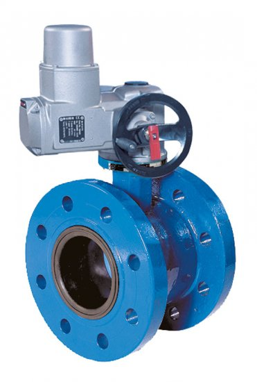Double flanged butterfly valve type 1160