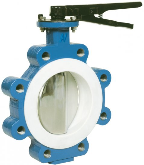 Butterfly valve lug type 1340/41