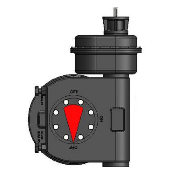 Technimex 93-700 part turn gearbox
